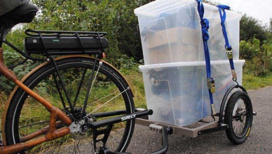 Accessory Roundup: Surly Heavy Duty Trailer, Suspension Handlebars, Commuter Shorts [VIDEO]