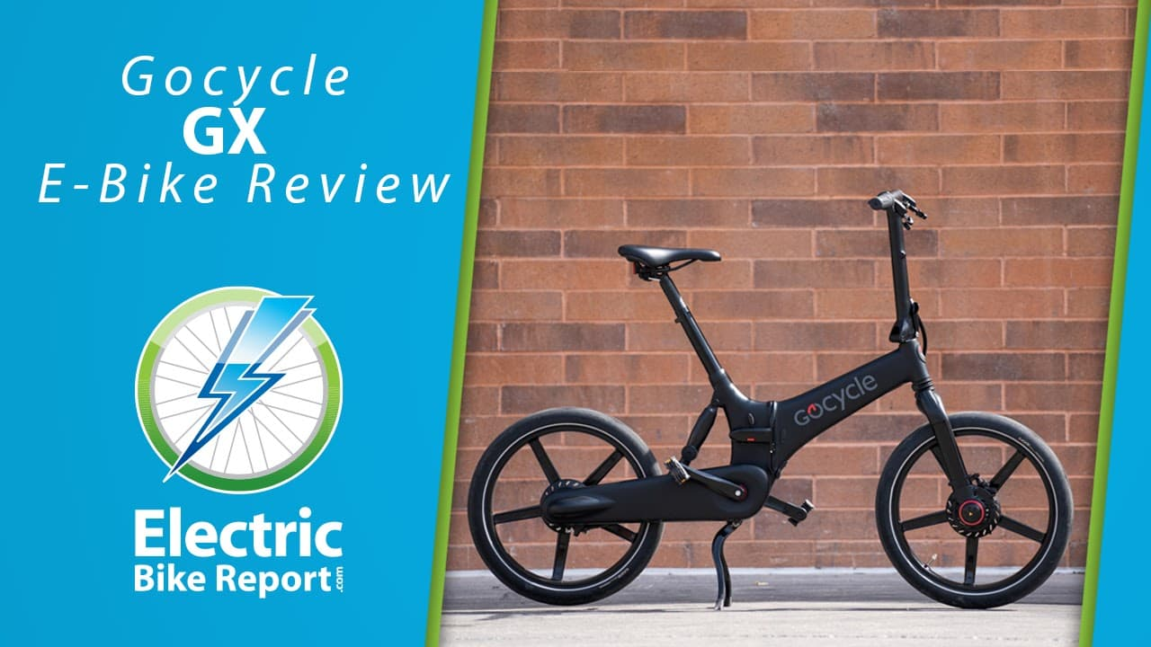 Electric Bike Report - GoCycle GX