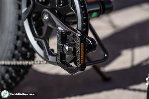 Lectric XP Black Folded Pedal