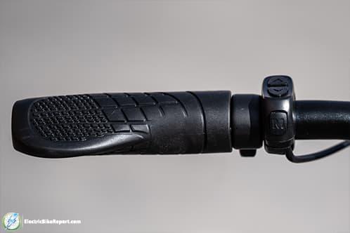 Lectric XP Black  Grip
