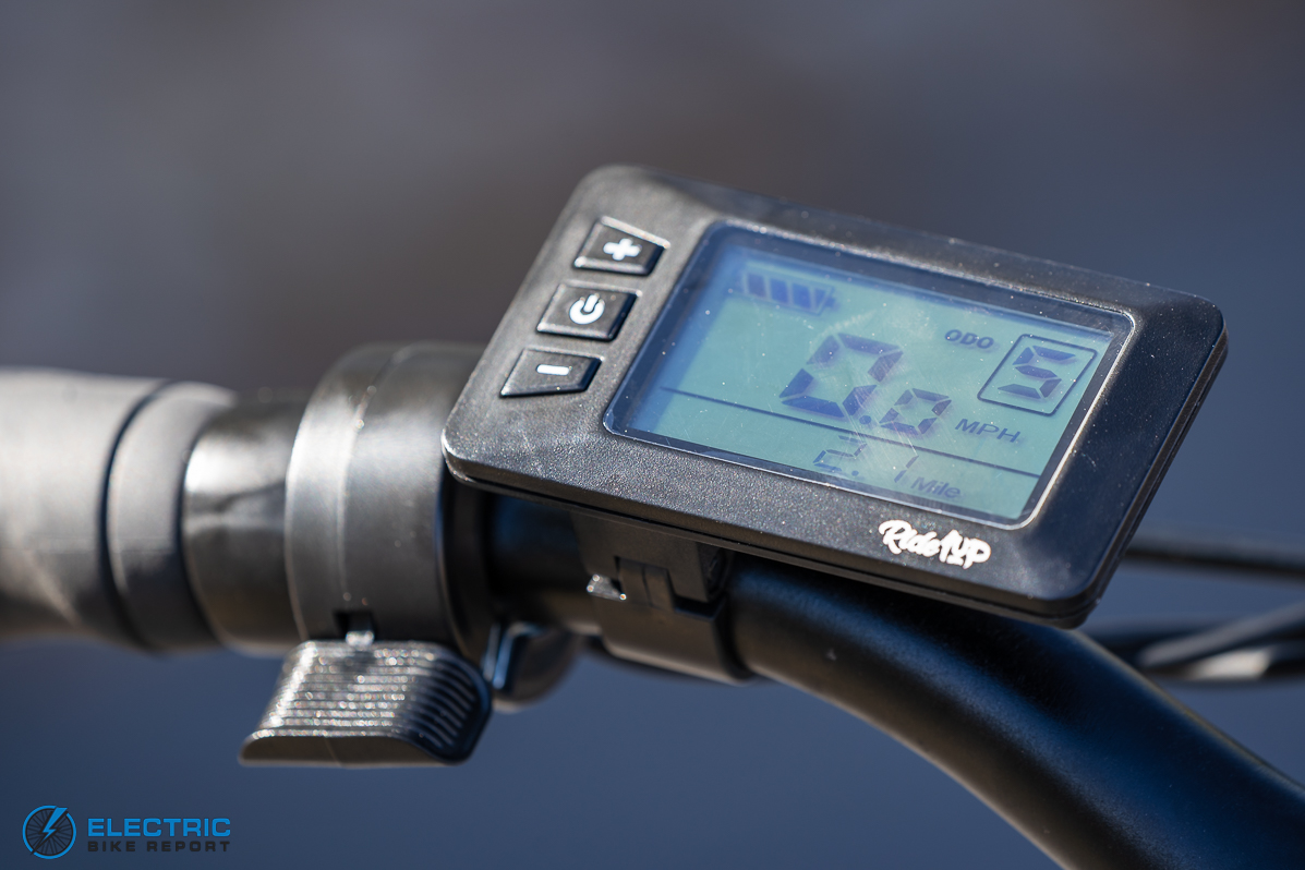 Ride1UP - Core-5 - LCD Display