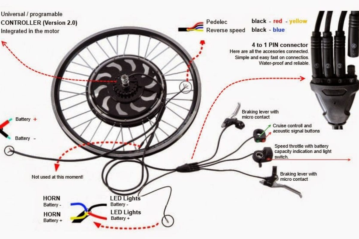 Electric Bike: Electric Bike Diagram
