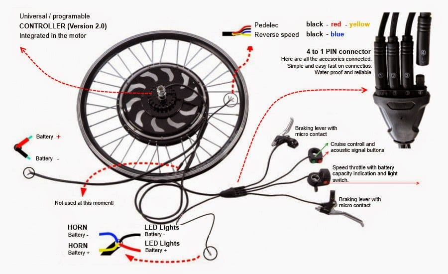 motor bike wiring diagram