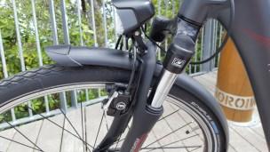 Space-age Magura brakes