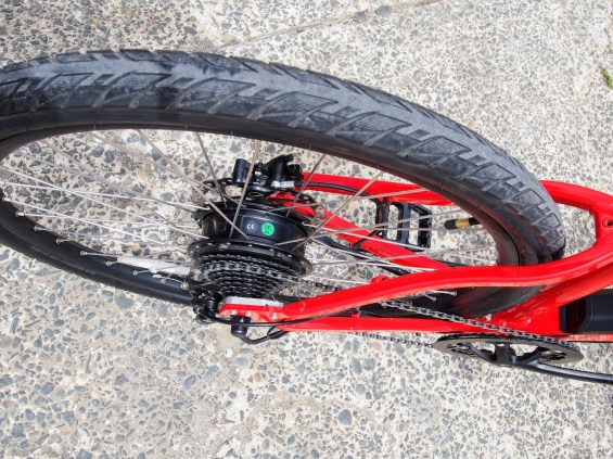 Tyres have good grip