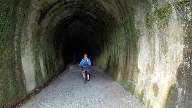 The long tunnel near Okaihau