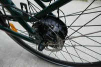 Bafang geared rear motor, Tektro Aries brakes