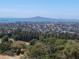Rangitoto from Maungakiekie