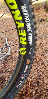 """This build featured carbon rims and 29"""" wheels. The bike will also handle 27+ wheels"""