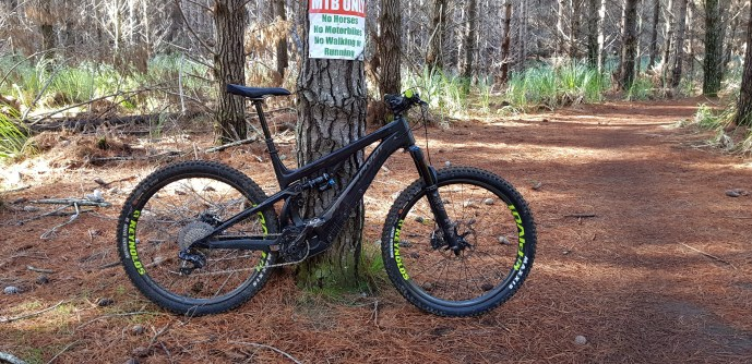 It's the most MTB of the eMTBS