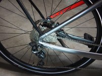 It's just a wheel now. Thru axles front and rear. Shimano bits.