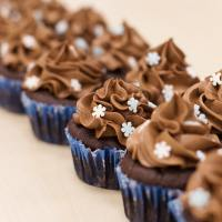 Allergy-friendly chocolate cupcakes (vegan and gluten free)