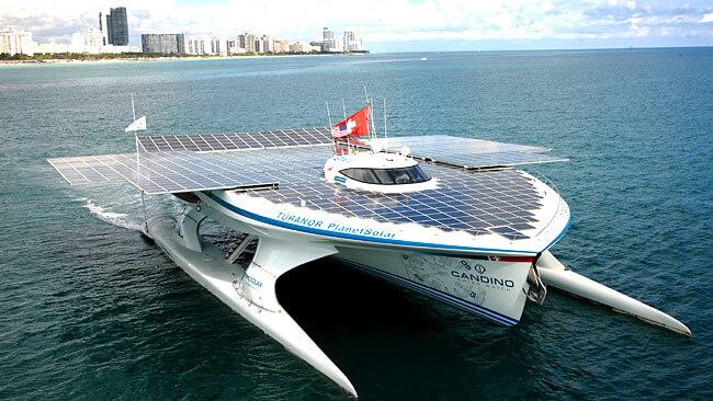 Turandor Solar Boat