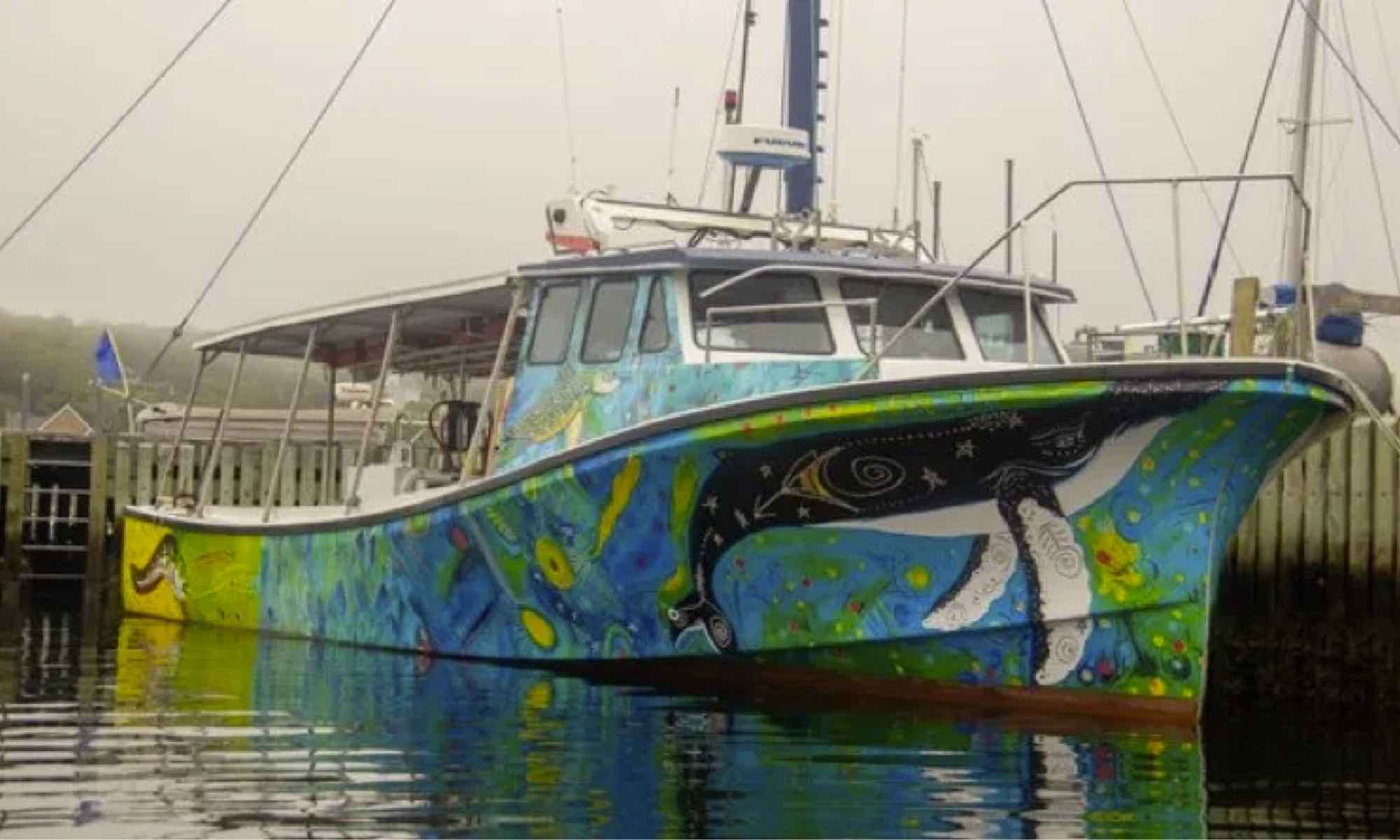 Glas Ocean electric boat Halifax