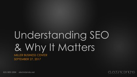 Understanding SEO & Why It Matters