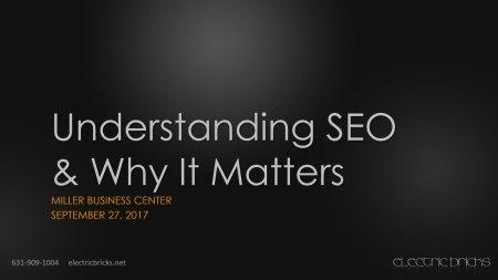Understanding SEO & Why It Matters