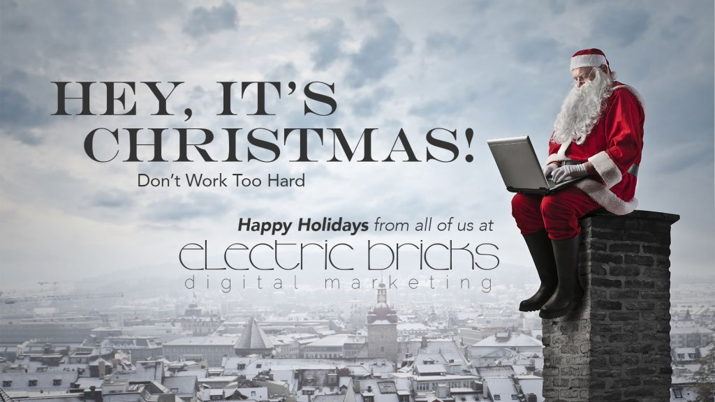 Happy Holidays from Electric Bricks!