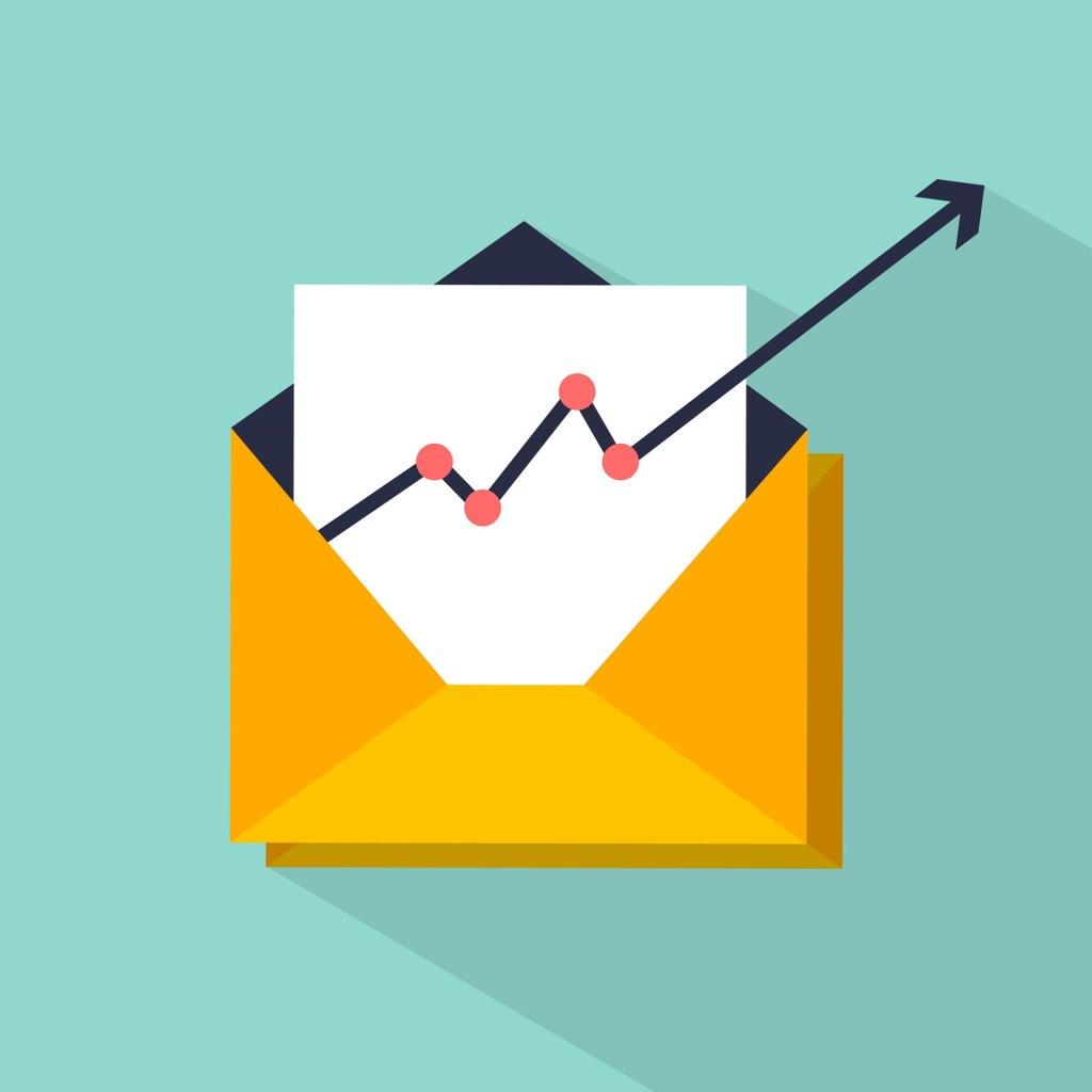 Email marketing envelope