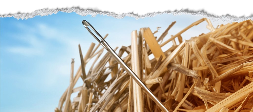 seo - finding a needle in a haystack