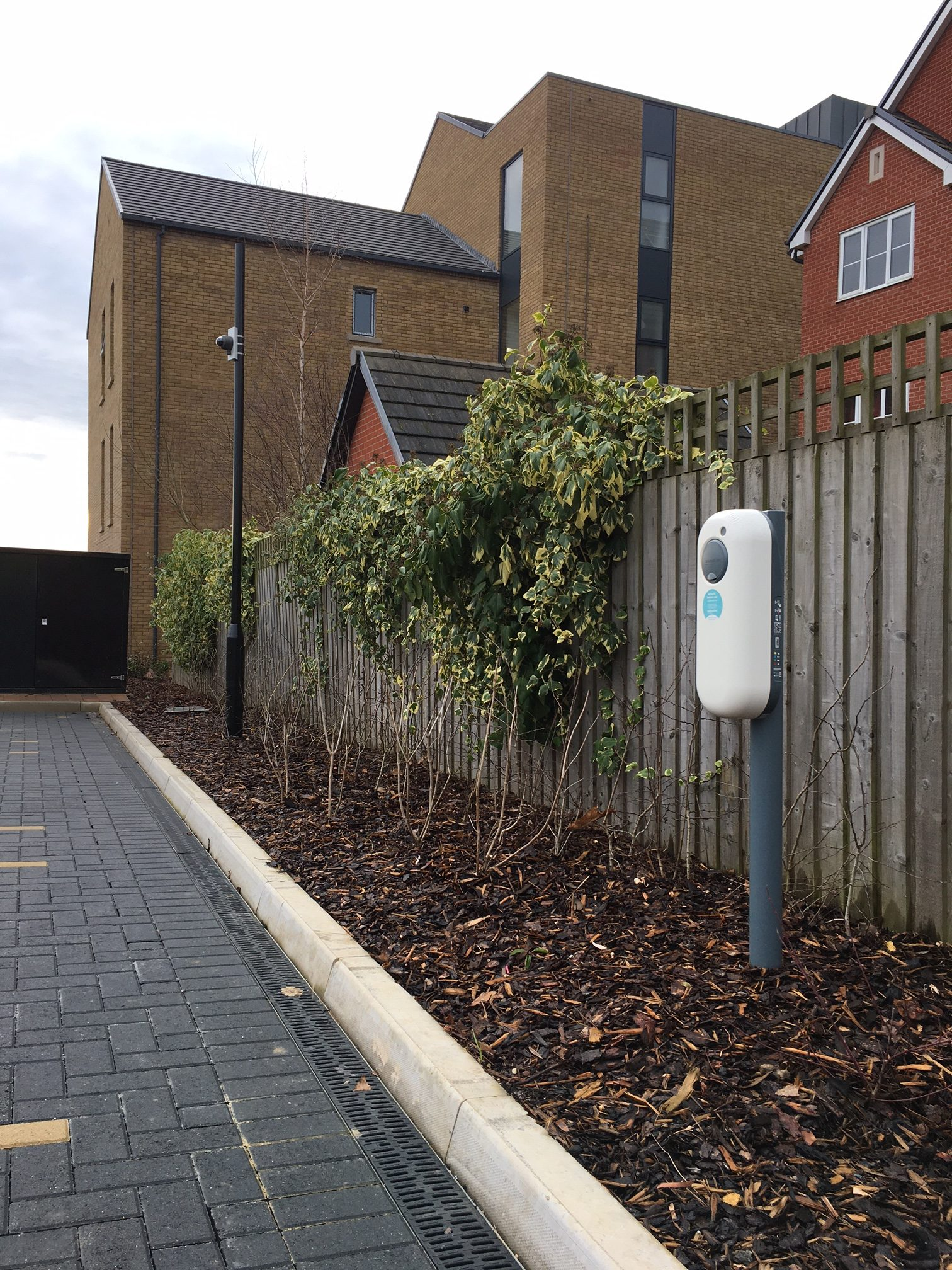 Electric Car Chargers UK, ECC UK, providing communal chargers for apartment blocks and residential developments