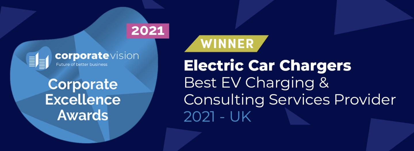 Electric Car Chargers UK (ECC UK) win the award for Best EV charging consulting service in 2021