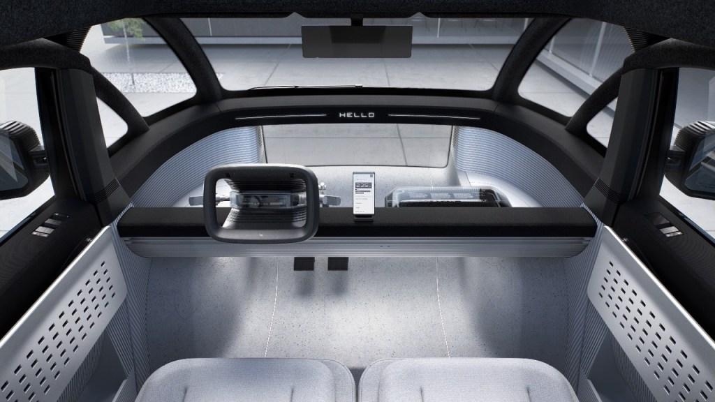 Canoo Van Interior