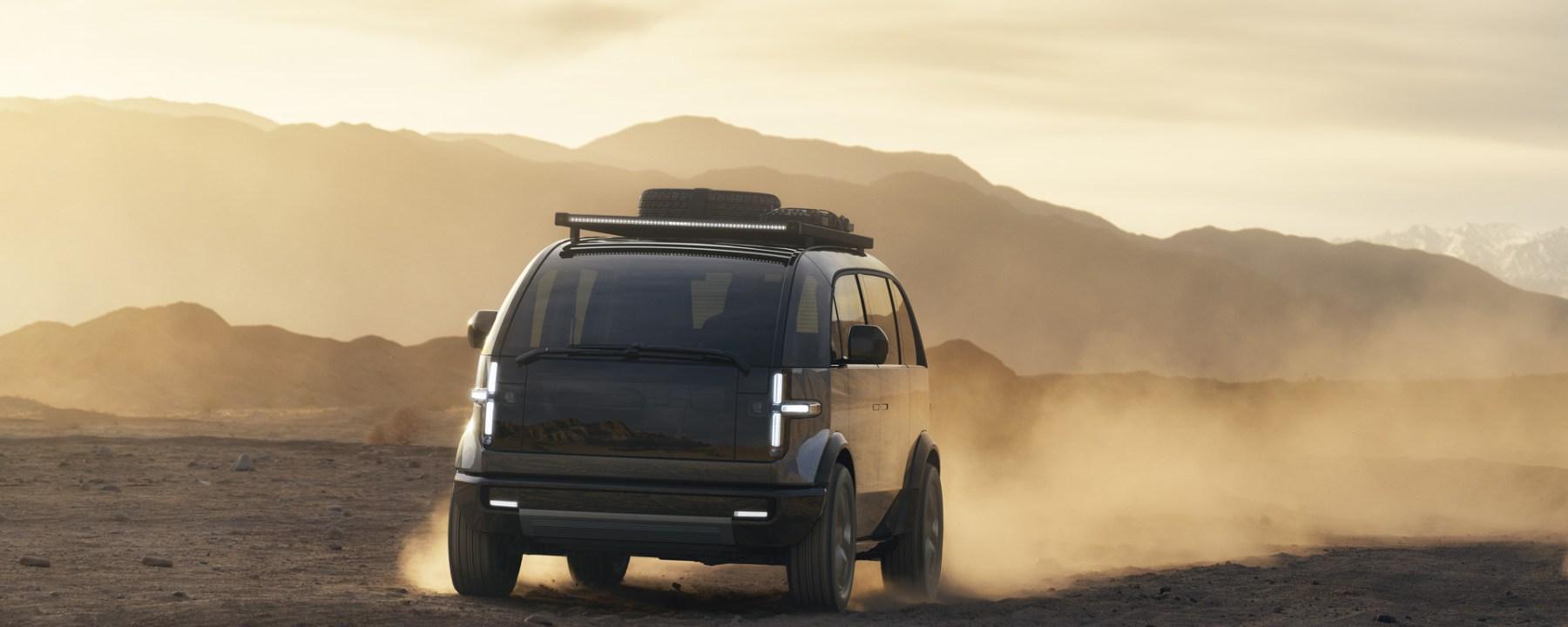 Canoo Van Exterior