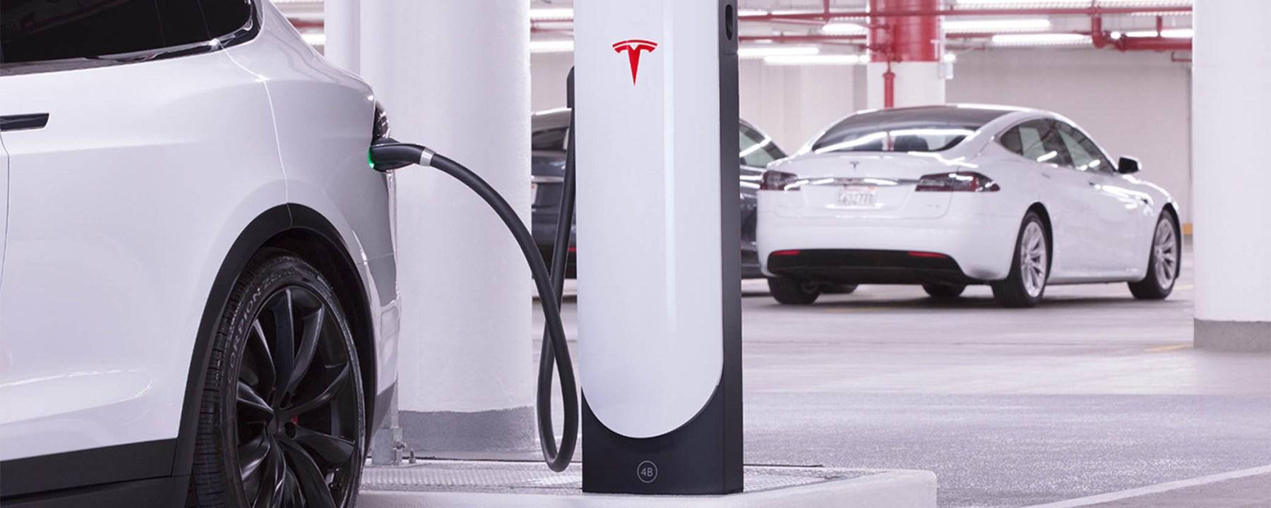 Tesla Plugged-In