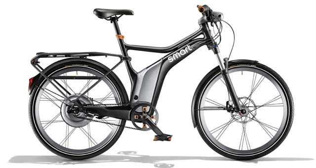 Mercedes DTM Drivers Will Use New Smart Ebikes In The