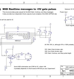 midi clock to analog gate pulses electric druidclock schematics 16 [ 3566 x 2514 Pixel ]