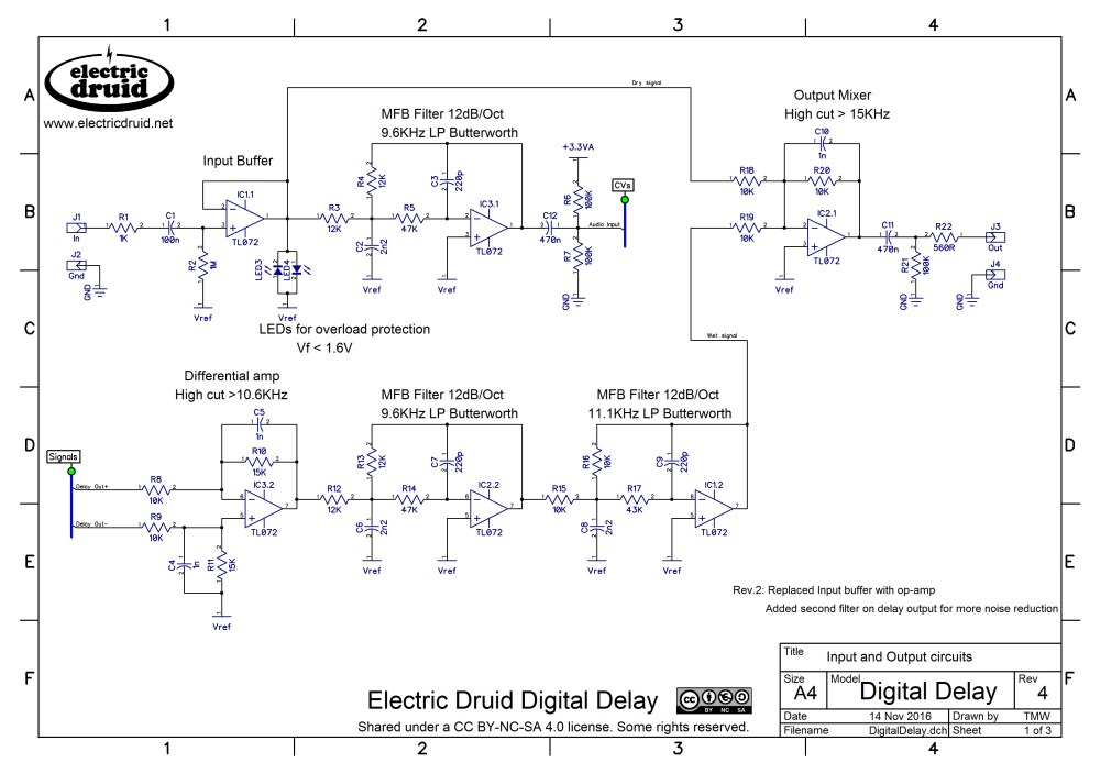 medium resolution of digidelay schematic pg1