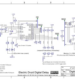 diy 4 second digital delay electric druid rh electricdruid net dedenbear delay box wiring diagram delay [ 3554 x 2516 Pixel ]