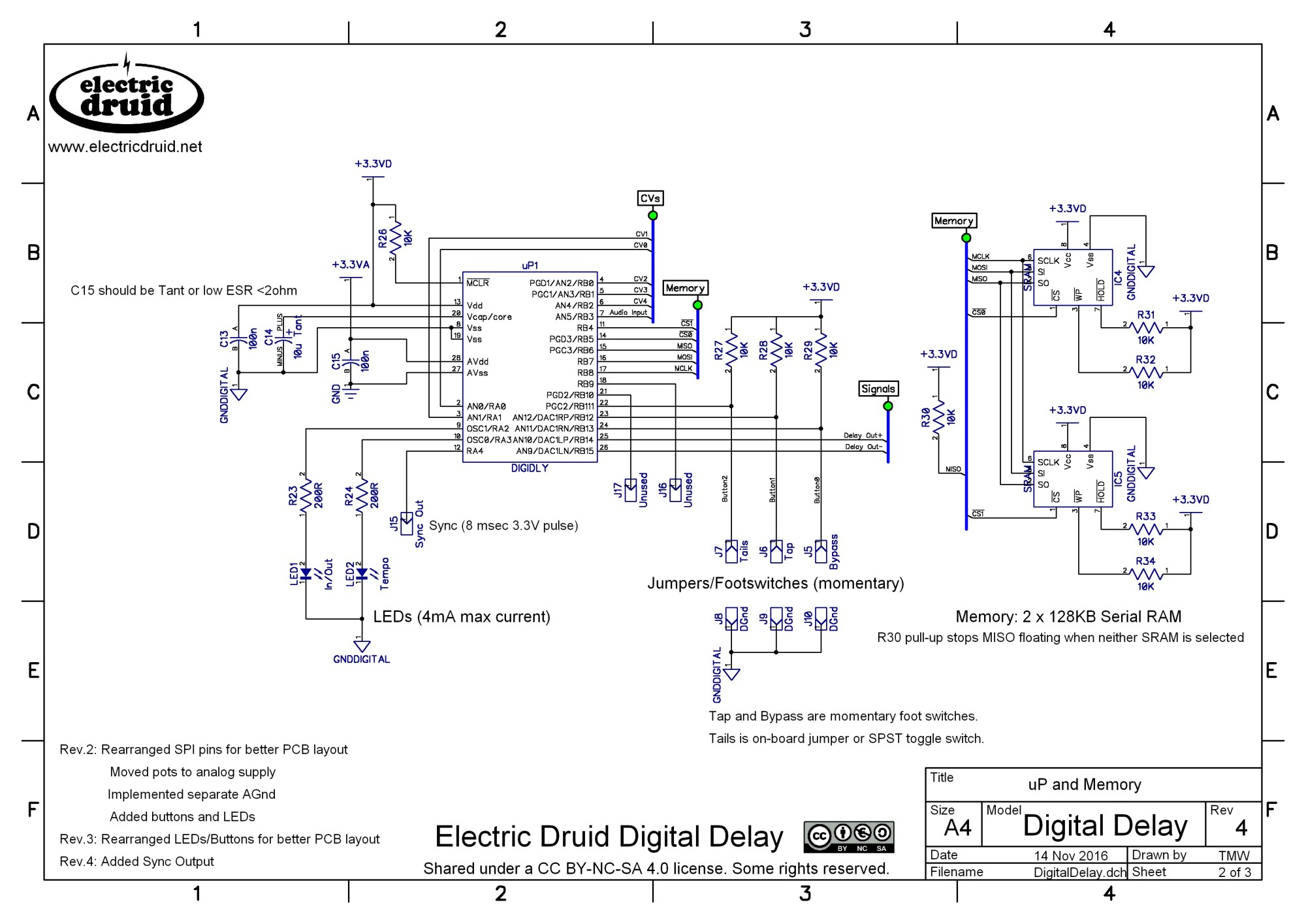 hight resolution of diy 4 second digital delay electric druid rh electricdruid net dedenbear delay box wiring diagram delay