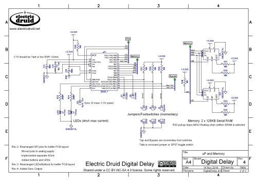 small resolution of diy 4 second digital delay electric druid rh electricdruid net dedenbear delay box wiring diagram delay