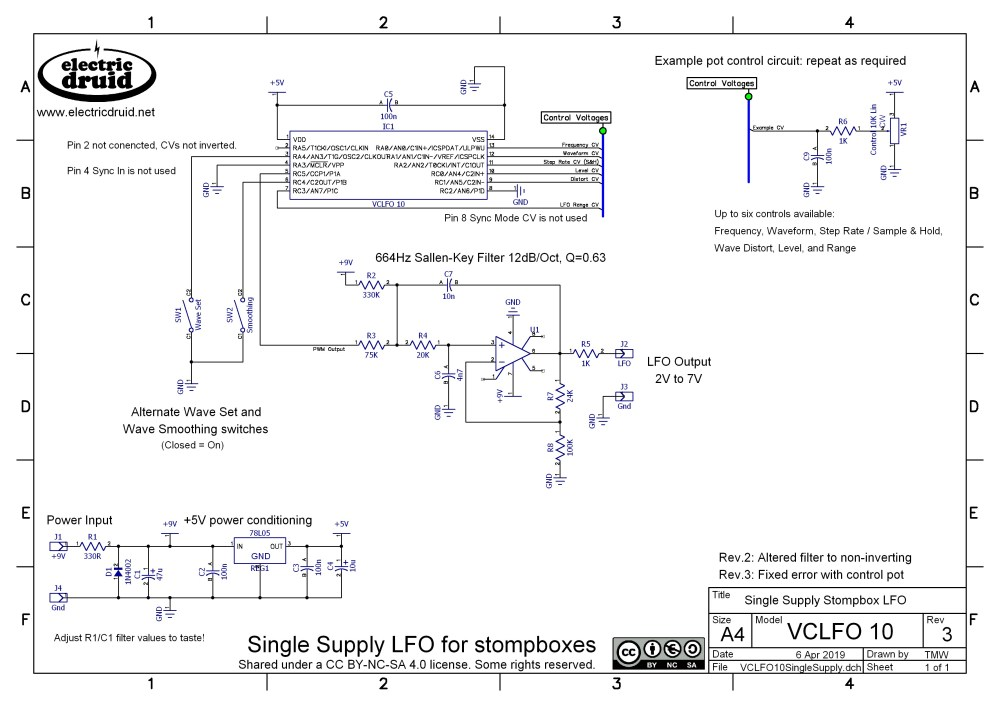 medium resolution of  vclfo10 datasheet includes circuit diagram and chip pinout
