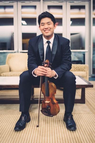 Jonathan Ong, violin