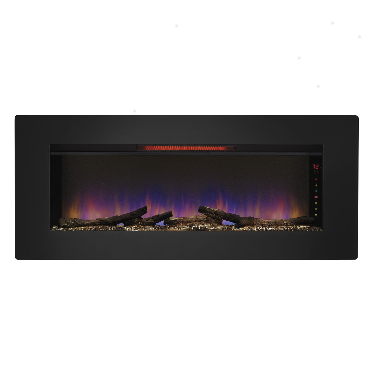 "Infrared Fireplace Inserts Classic Flame ""felicity"" Infrared Electric Fireplace Wall"