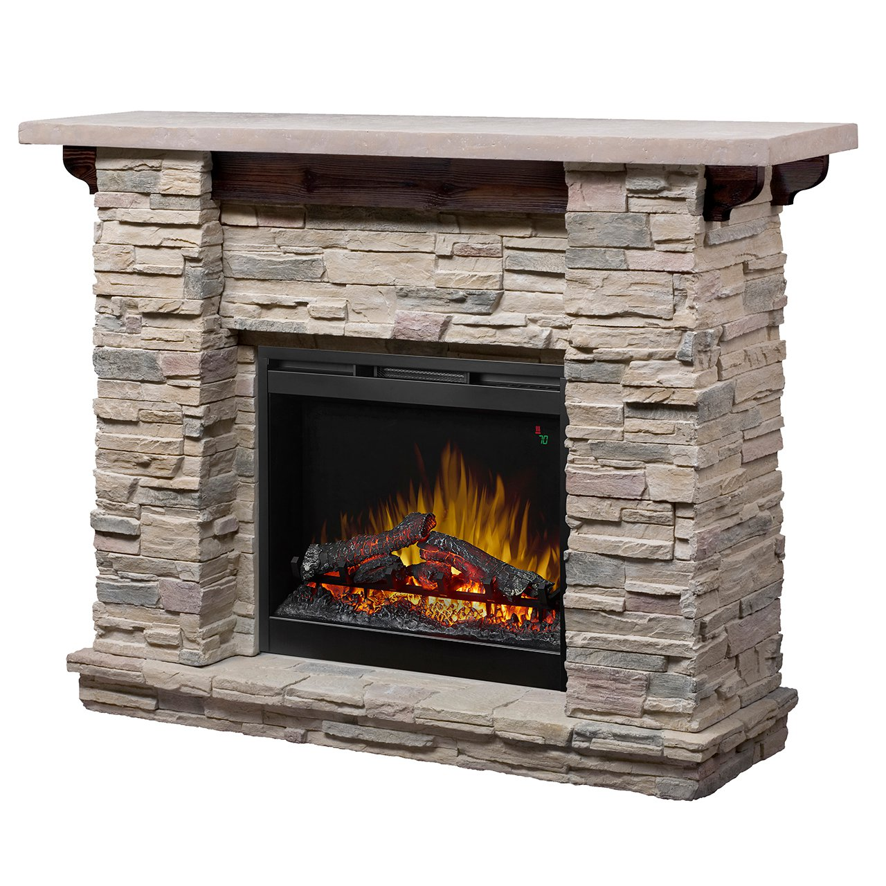 Corner Electric Fireplaces Home Depot Dimplex Featherston Gds26-1152lr 26′ Electric Fireplace