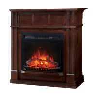 Bailey Electric Fireplace Mantel Package in Espresso ...