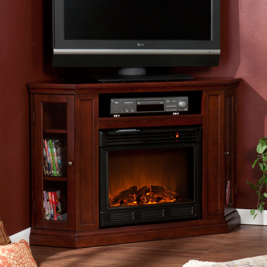 Infrared Fireplace Inserts Claremont Cherry Electric Fireplace Media Package | Fe9310