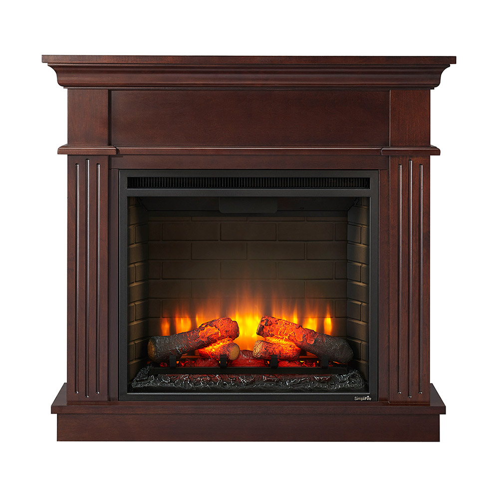 Corner Electric Fireplace With Mantel Crestwood Wall Or Corner Electric Fireplace Mantel Package