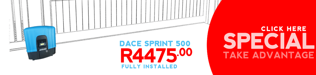 DACE Sprint 500 Gate Motor Special