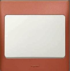 "Light switch Red ""Legrand"""