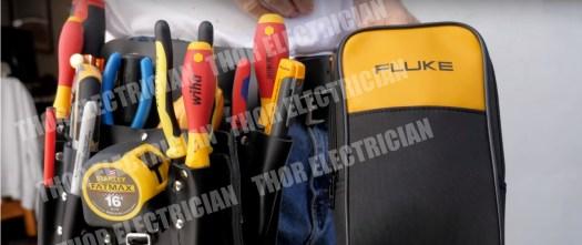 Electrician tool belts