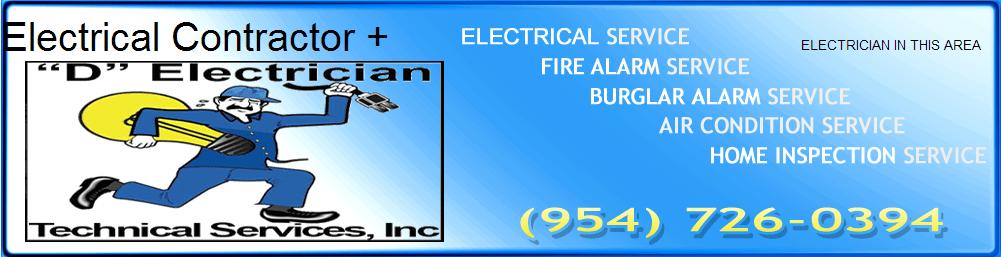 Electrician In Broward County 954-726-0394 Logo