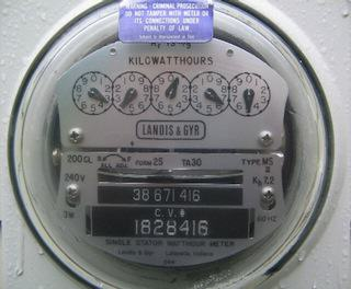 Santa Barbara Electric Meter