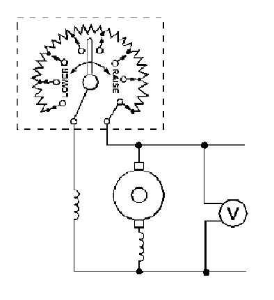 Figure 1-21.Hand-operated field rheostat