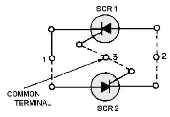 Figure 3-24.Back to back SCR equivalent circuit