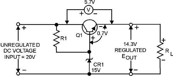 Figure 4-34.Series voltage regulator