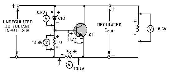 Figure 4-37.Shunt voltage regulator